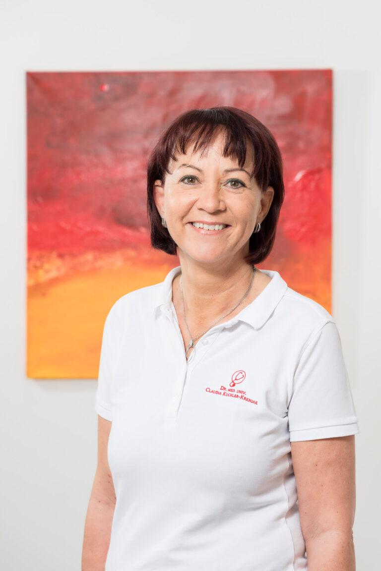 Portrait von Dr. Claudia Kuchler-Krknjak